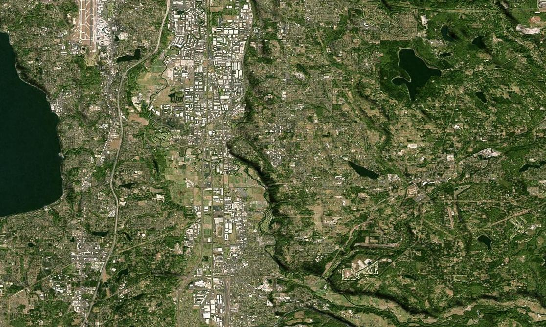 Satellite Panels Texture : Global satellite imagery mosaic els version