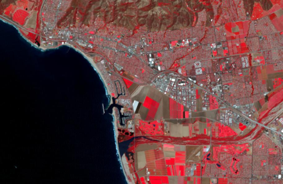 Spectral Discovery for Landsat-8 imagery